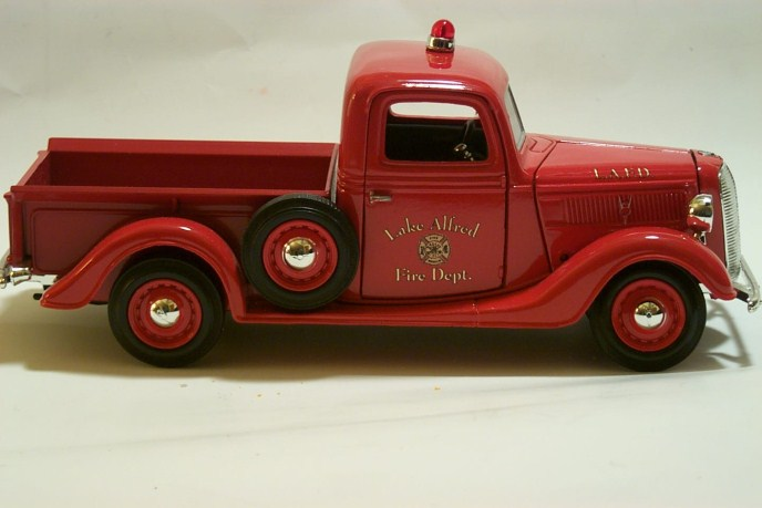 Chevy Model Fire Truck