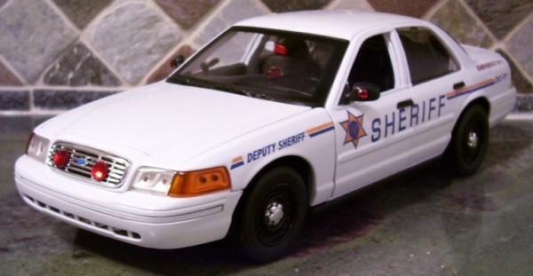 Custom Model Diecast Police Cars