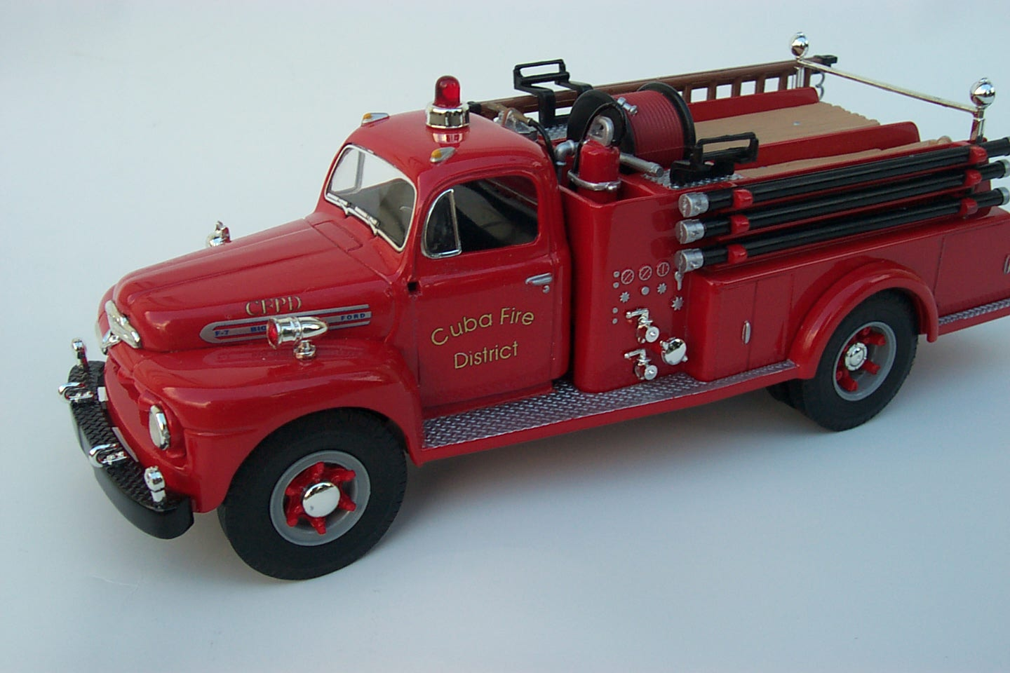 Model Ford Fire Truck
