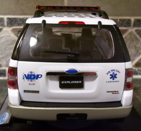 Cridersville police car is a diecast model of Chief John Drake's car